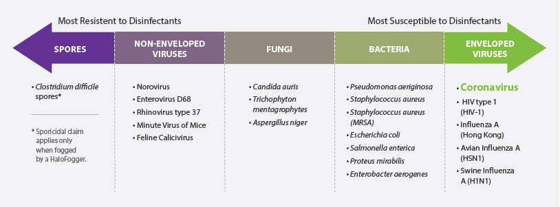 halosil 6log disinfectants-resistent disinfectants Envrio Safe