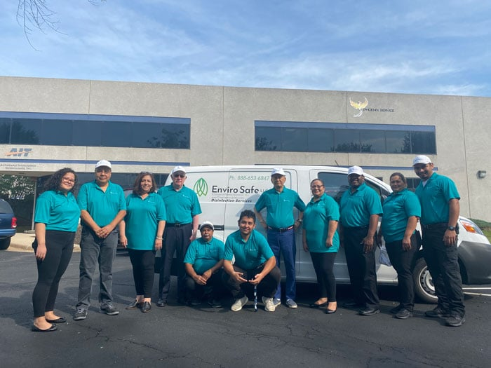 Disinfecting Company Team in Northern VA